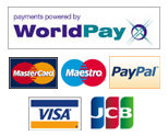 WorldPay: Master Card, Maestro, PayPal, Visa and JCB are accepted at Ultimate Gifts Shop-on-line area